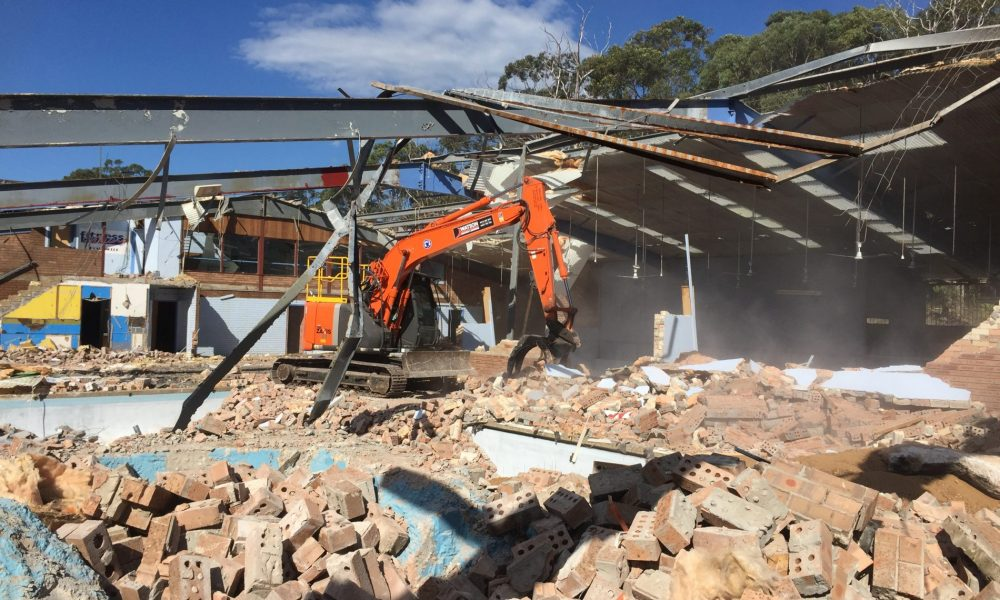 commercial site demolition
