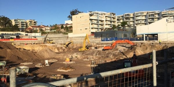 Nelson Bay Site Excavation & Preperation