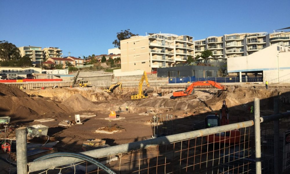Nelson Bay Site Excavation & Preperation