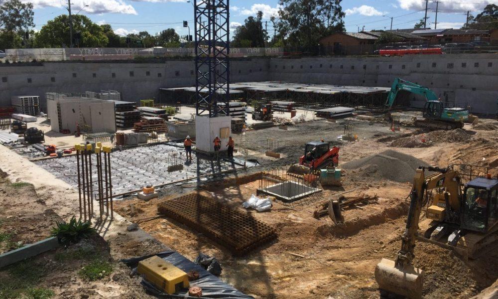 Large site excavation Port Stephens