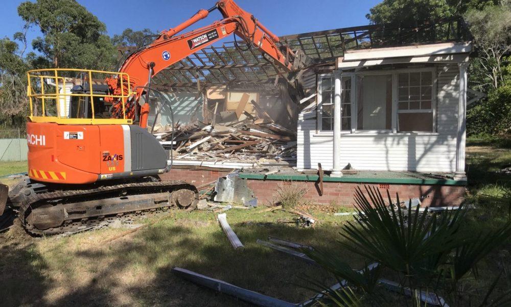 House Domestic Demolition